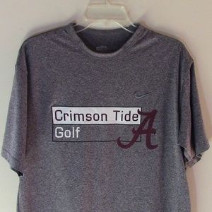 Alabama Crimson Tide Nike Athletic T-Shirt Sz M